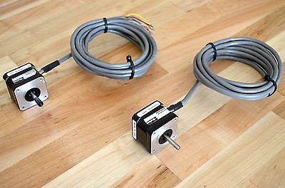 Parker Lv171-02-10 Dual-shaft Nema17 Stepper Step Stepping Motor -cnc Diy Reprap