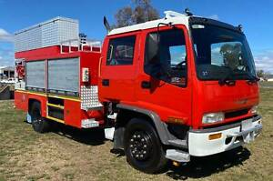 Isuzu FTR800 4x2 Dualcab/Crewcab Cab/Chassis Firetruck.Low kms Inverell Inverell Area Preview