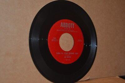 JIM REEVES: THEN I'LL STOP LOVING YOU & ECHO BONITA; 1954 ABBOTT 160 MINT- 45