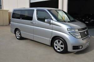 NISSAN E51 ELGRAND HIGHWAY STAR CAMPERVAN / 8 SEATER PEOPLE MOVER Brompton Charles Sturt Area Preview