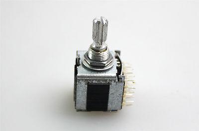 Alps 20mm Rotary Absolute Encoder 360 Degree Endless 20mm Knurled Metal Shaft