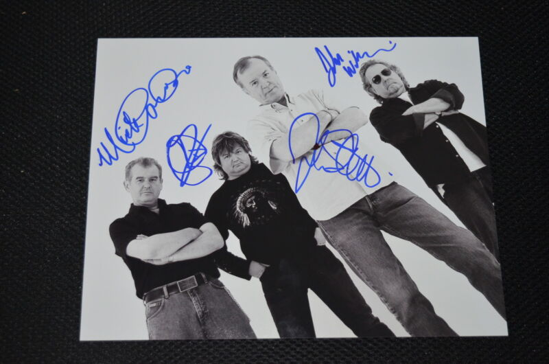 ANIMALS & FRIENDS signed autograph In Person 8x10 20x25cm THE ANIMALS John Steel