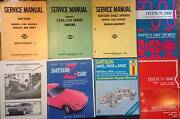 Datsun 240z service, workshop, repair and owners manuals, + Narre Warren Casey Area Preview