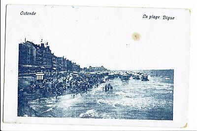 CPA - Carte postale - Belgique - Oostende - La Plage -S1865