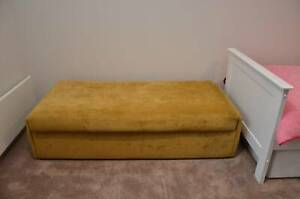 Ottoman fold out double bed