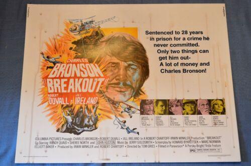 "Vintage Movie Poster, ""Breakout"" (1975)"