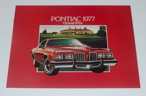 1977 Pontiac Grand Prix Sales Brochure Canadian Market Near Mint