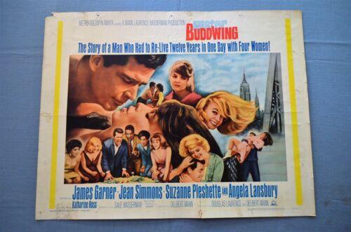 "Vintage Movie Poster,  ""Mister Buddwing"" (1966)"