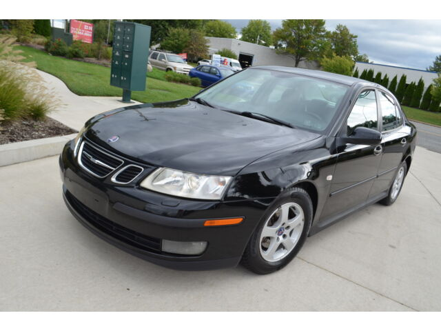 2003 SAAB 9-3 LEATHER 5 SJPEED MANUAL CLEAN CARFAX NO ACCIDENTS NO RESERVE