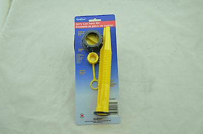 NEW Scepter Spout Kit Jerry Gas Can 4 Piece Parts 03647 Stopper Vent Screw Cap