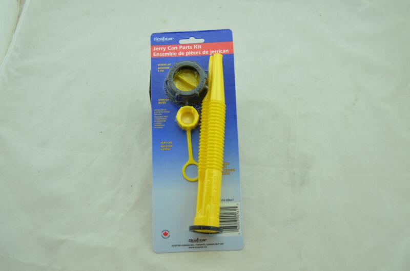 1x Scepter Spout Kit Jerry Gas Can 4 Piece Parts 03647 Stopper Vent Screw Cap