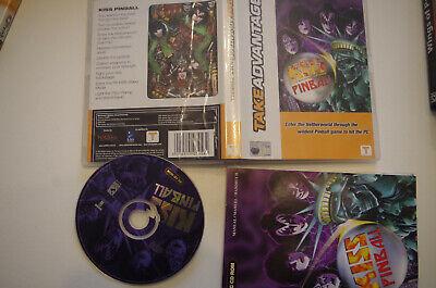 Kiss pinball  PC CD ROM  game