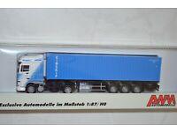 Herpa SZ 40 ft contenedores flatcontainer MSC