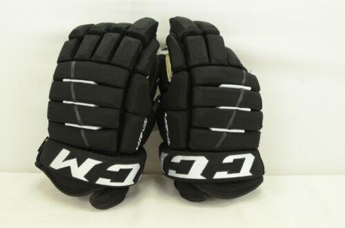 CCM 4R Lite Pro Ice Hockey Gloves Senior Size 13 Black/White (0319)