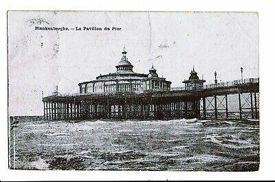 CPA - Carte Postale -Belgique - Blankenberge Le Pier et le Pavillon-- VM3482