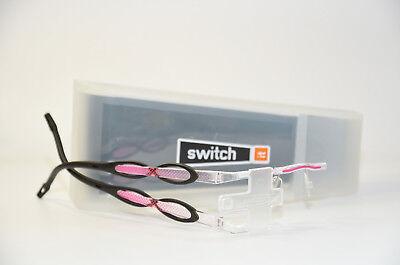Switch it combi 2389 Wechselbrille Damen Brille randlos pink Neu Neuheiten