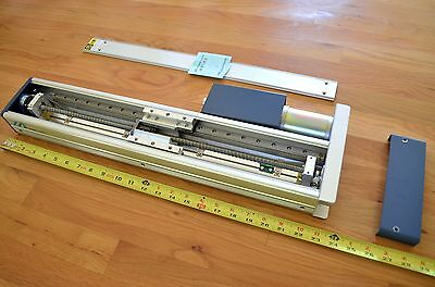 New Iai Intelligent 12r2-35-400brl Linear Ballscrew Actuator W Servo Motor -cnc