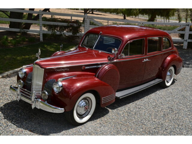 Packard 180 LeBaron 1941 Packard Custom 180 LeBaron Limousine, Award Winning, 1 of 6 Extant!