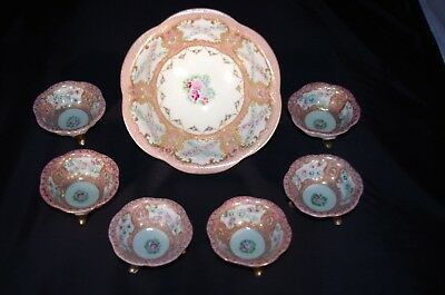 ANTIQUE PORCELAIN 7PC PEANUT SET SALE!