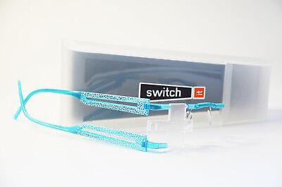 Switch it combi 2224A Wechselbrille Brille Damen Kunststoff türkis Neu