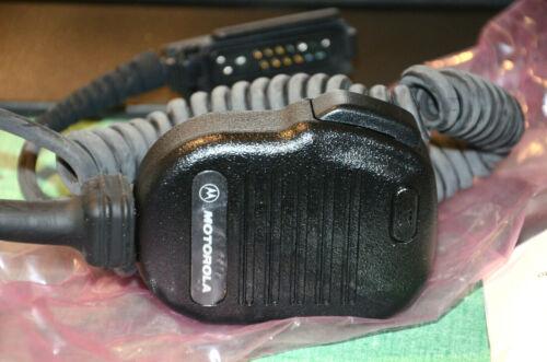 Motorola NMN6191B Original Noise Canceling Remote Speaker Mic Microphone  #75