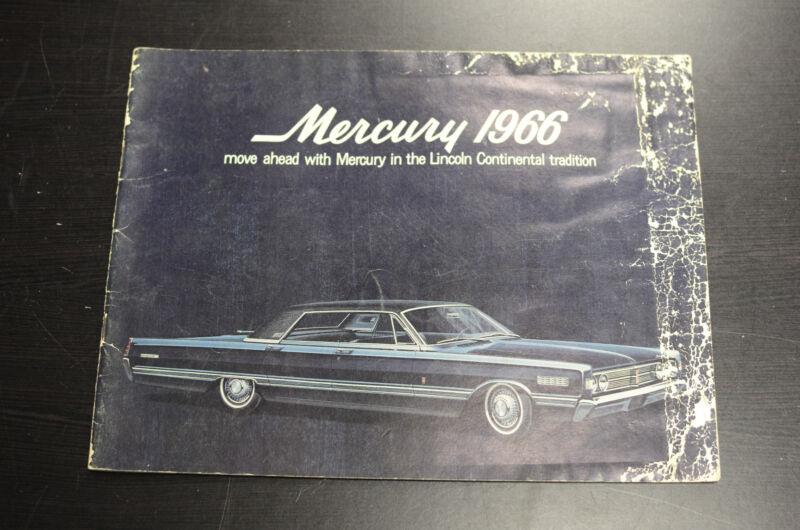 Mercury 1966 Sales Literature Book