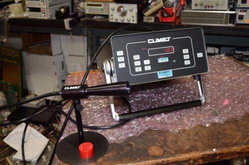 Climet CI-4222 Laser Particle Counter Bar Code Reader & Laser Sensor Probe