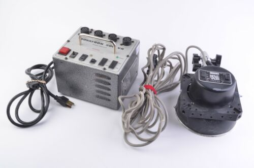 EXC++ NOVATRON 500 VR POWER PACK w/2140c 2-STOP HEAD + CHIMERA COLLAR, TESTED