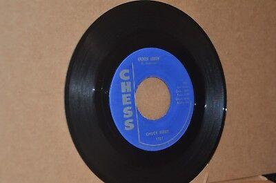 CHUCK BERRY: BROKEN ARROW & CHILDHOOD SWEETHEART; 1959 CHESS 1737 VG++ NONHIT 45