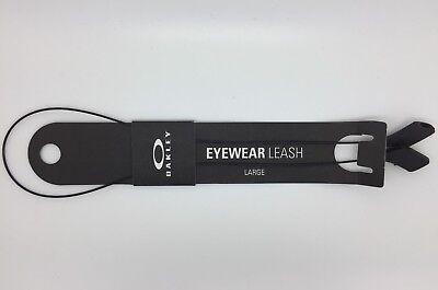 OAKLEY Eyewear Leash LARGE SIZE black BRAND NEW - strap, retainer, (Oakley Sunglasses Strap)