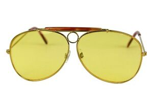 Fear and Loathing in Las Vegas Hunter S. Thompson Yellow Aviator Sunglasses