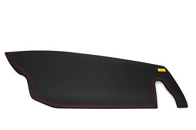 Ferrari 458 DASH BOARD AIRBAG COVER DASHBOARD BLACK WITH RED STITCHING