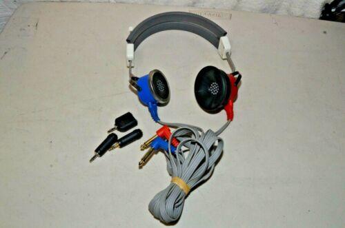 Qualitone Telephonics Audiometric Headphones Audiometer Headset 510C017-2 Tested