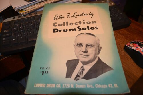 Wm. F. Ludwig Collection Drum Solos 1956