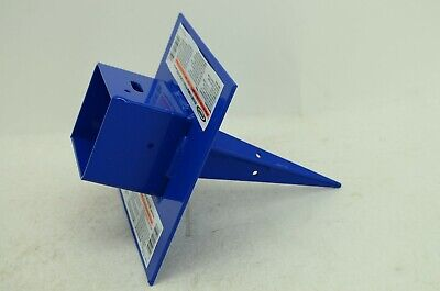 Werner-spj-pa-4 Pole Anchor Hold 3-3.5 Inches Wood Aluminum Pole Blue New