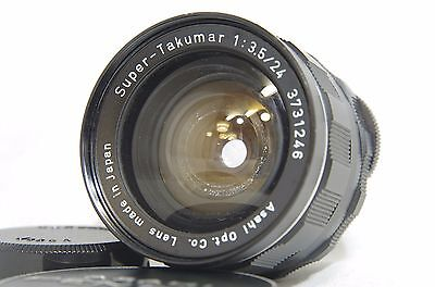 Объективы Pentax Super-Takumar 24mm F/3.5 MF