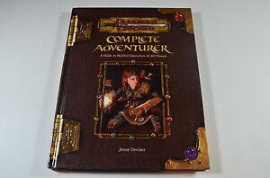 COMPLETE-ADVENTURER-D-amp-D-v3-5-Dungeons-Dragons-Player-039-s-Handbook-Guide-Game
