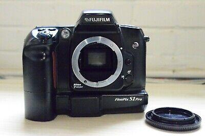Fujifilm FinePix S Series S1 Pro 3.2MP Digital SLR Camera - Black (Body Only)