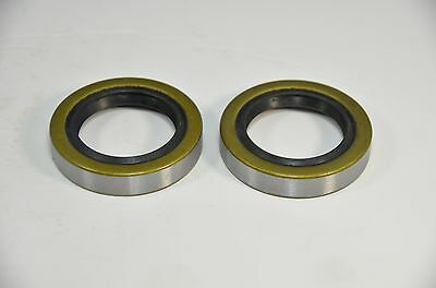 Qty 2 34823 12192tb Double Lip Seals For 2000lb Trailer Axles Bt8 Spindle