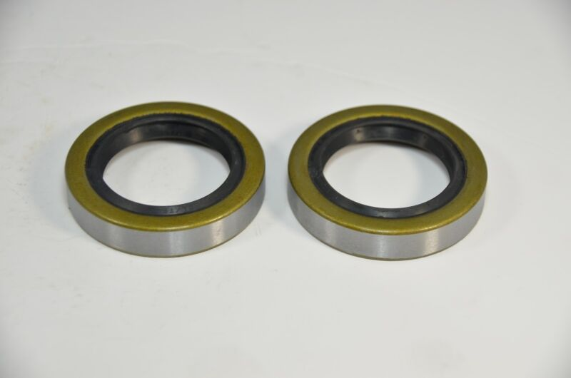 (Qty 2) 10-19 171255TB Double Lip Seals for 3500lb Trailer Axles #84 Spindle