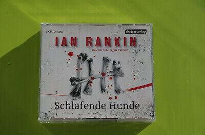 Gebraucht, Ian Rankin - Schlafende Hunde - Hörbuch - gelesen von Jürgen Tarrach 6 CD CDs gebraucht kaufen  München