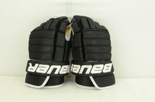 Bauer PHC Vapor Pro Ice Hockey Gloves Black/White Senior Size 15 (0709)