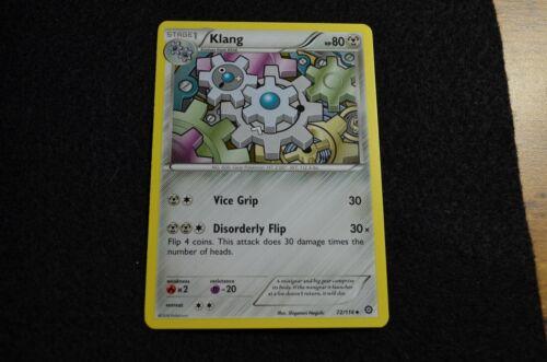 KLANG 72//114 POKEMON XY STEAM SIEGE CARD