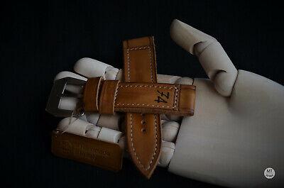 24 mm Vintage 74 Cinturino artigianale Leather Watch Strap Handmade Pam Italy