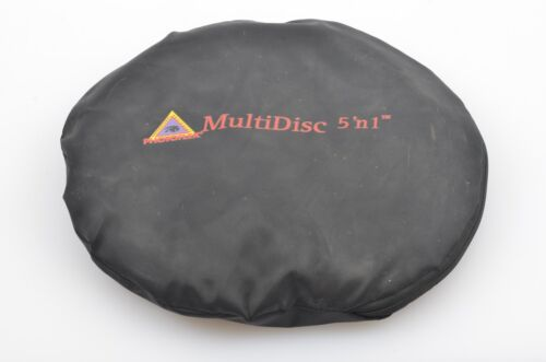 """GENUINE PHOTOFLEX MULTIDISC 5-in-1 32"""" COLLAPSIBLE REFLECTOR, GOOD CONDITION"""