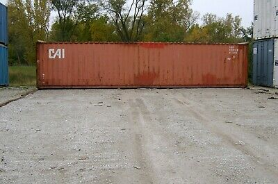 Used Shipping Storage Containers 40ft Wwt New Orleans La 3000
