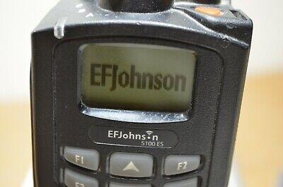 Set Of 6 Ef Johnson 5100 Es Uhf 380-470 Mhz Gang Charger