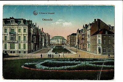 CPA -Carte postale-Bruxelles -Oostende -Avenue Leopold VM1287