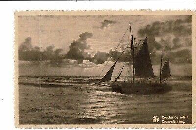 CPA - Carte Postale  BelgiqueWenduine - Coucher de soleil    VM817