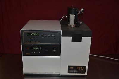 Csc Itc Isothermal Titration Calorimeter Model 4200 Hart Scientific Model 6210